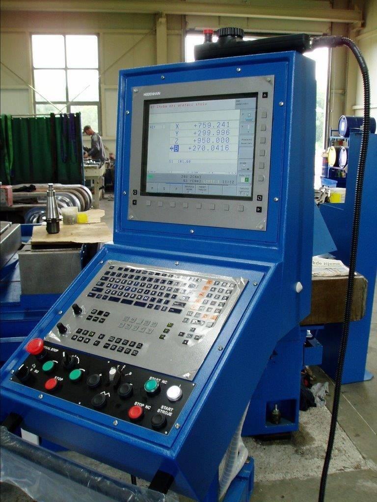 Modernizace CNC strojů Profesionální oprava CNC strojů Neuvirt Varnsdorf